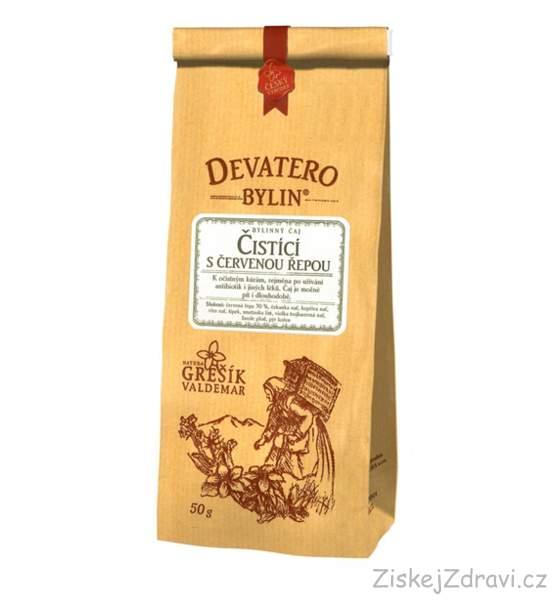 Čistící čaj s červenou řepou 50g - Grešík