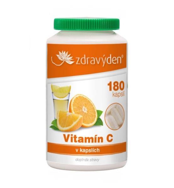 Vitamín C 180 kapslí - Zdravý den