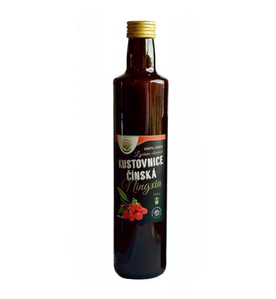 Kustovnice čínská Goji 500ml 100% šťáva - Salvia Paradise