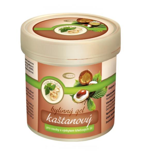 Kaštanový masážní gel 250 ml - Topvet