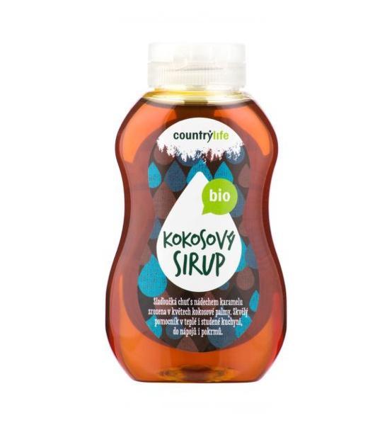 Sirup kokosový 250 ml BIO COUNTRY LIFE