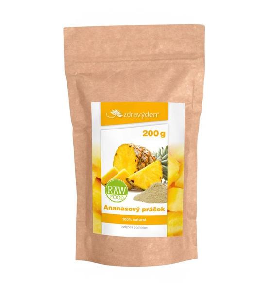 Ananasový prášek 200g - Zdravý den