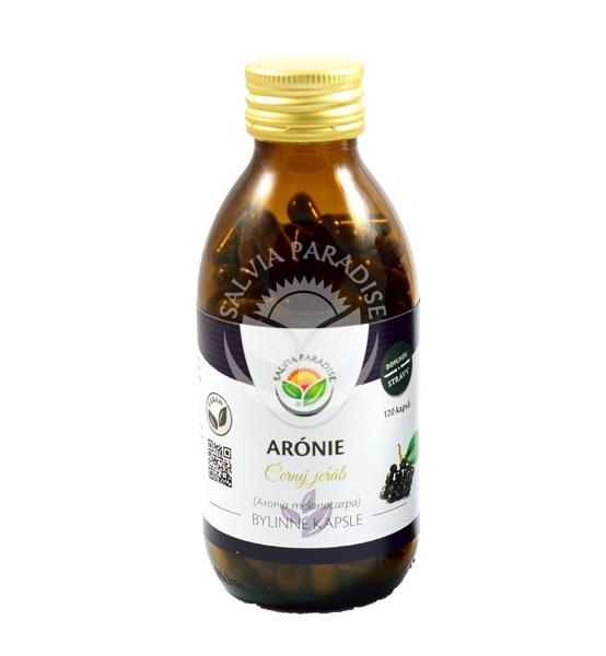 Arónie - Černý jeřáb vegan kapsle 120ks - Salvia Paradise