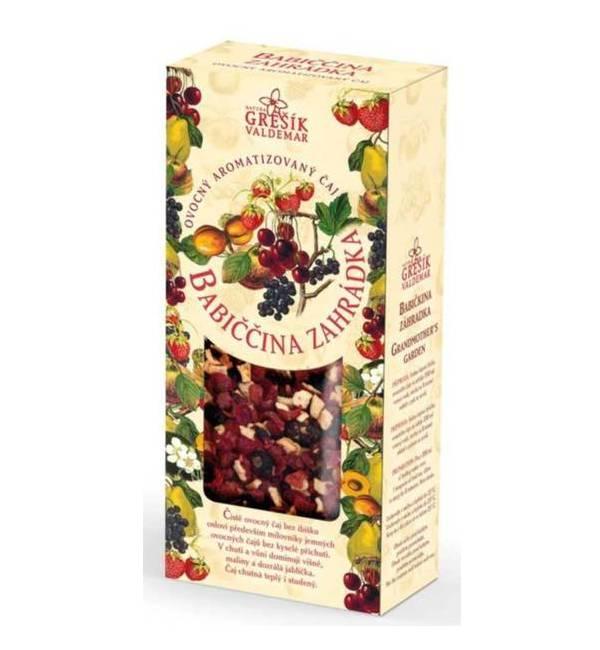 Babiččina zahrádka - ovocný sypaný čaj 100 g GREŠÍK