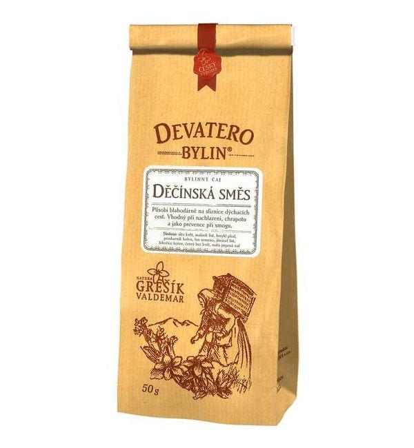 Děčínská směs - bylinný čaj 50 g GREŠÍK