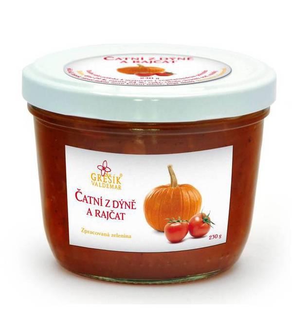 Čatní z dýně a rajčat 230 g GREŠÍK