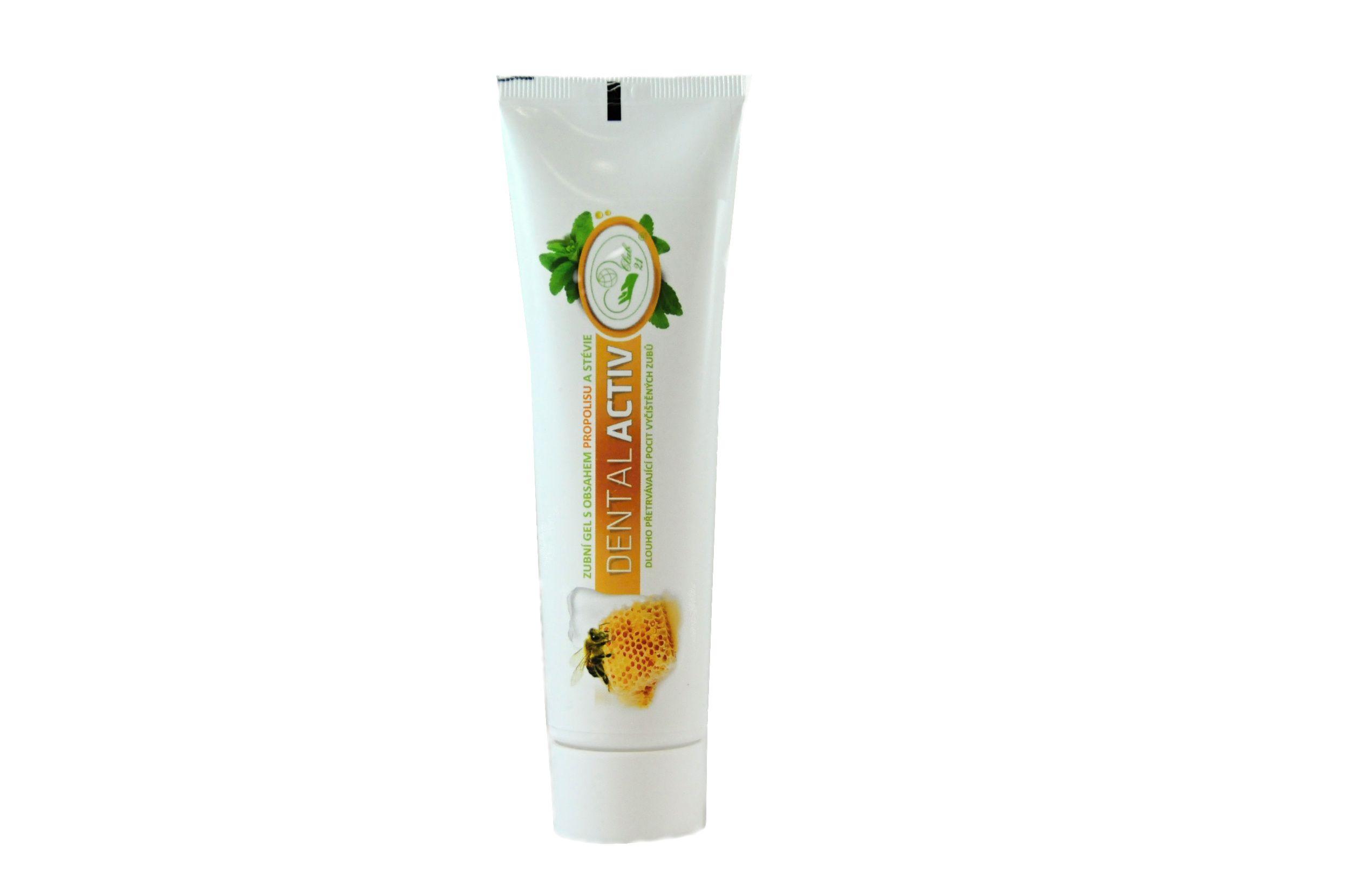Dental Activ Propolis - zubní gel bez fluoru 100 ml MISSIVA