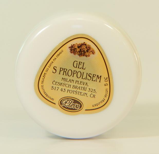 Gel s propolisem 30 g - PLEVA