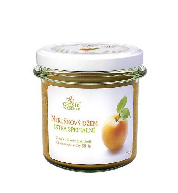 Džem meruňkový extra speciální 350 g GREŠÍK