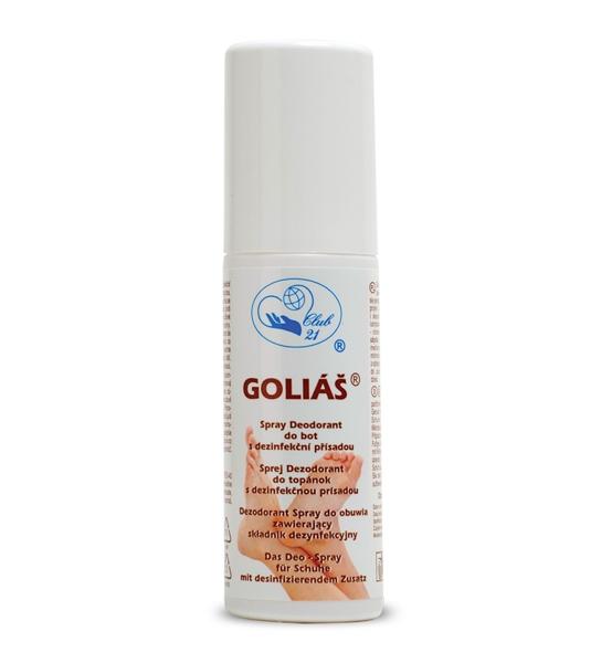 Goliáš ekologický spray deodorant do bot 100 ml - Missiva
