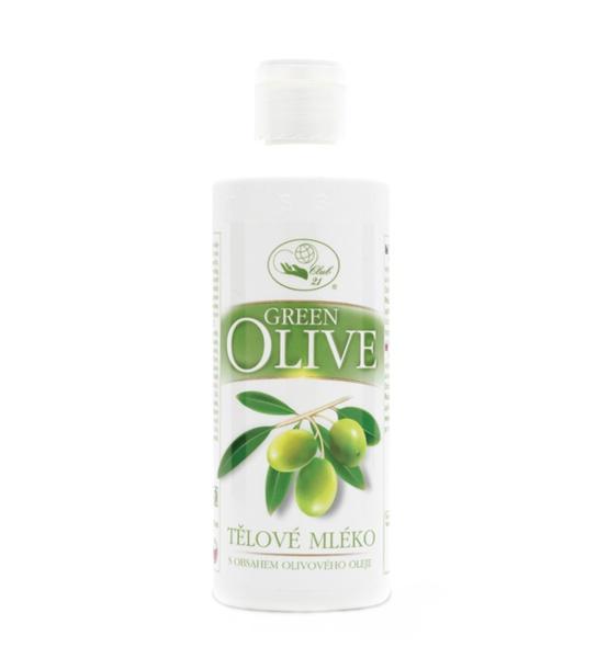 Green olive - tělové mléko 250 ml MISSIVA