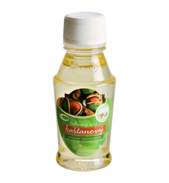 Kaštanový bylinný olej 100 ml - Topvet