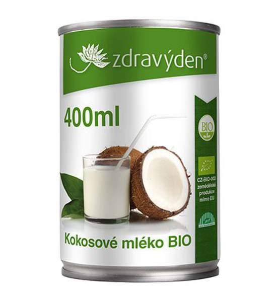 Kokosové mléko BIO 400ml - Zdravý den
