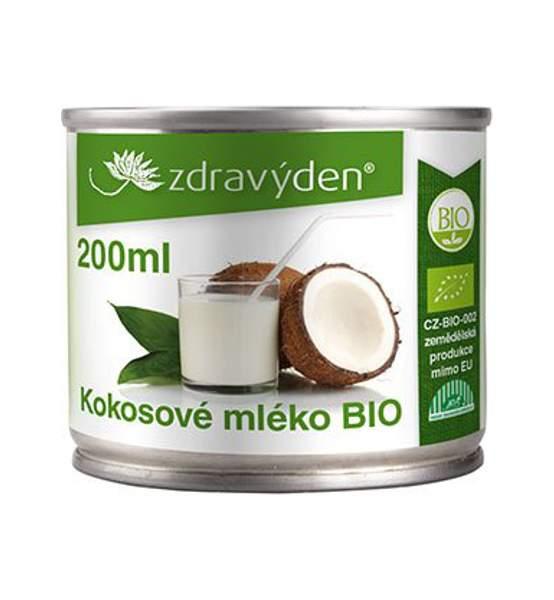 Kokosové mléko BIO 200ml - Zdravý den