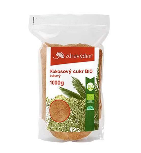 Kokosový cukr BIO květový 1000g - Zdravý den