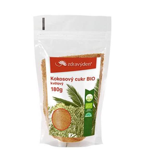 Kokosový cukr BIO květový 180g - Zdravý den