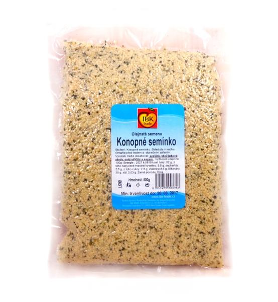 Konopné semínko - loupané, vakuované 500g - IBK trade