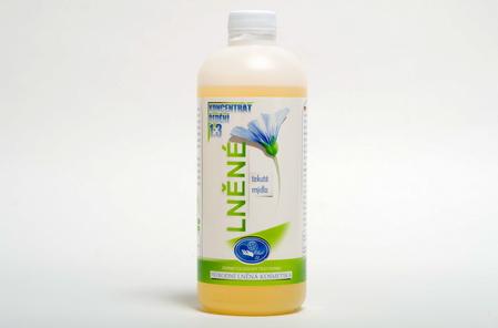 Lněné tekuté mýdlo 0,5 L koncentrát 1:3 MISSIVA