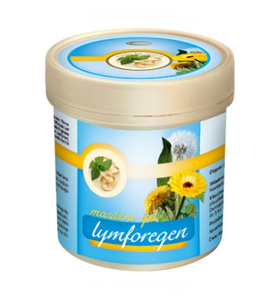 Lymforegen masážní gel 250 ml - Topvet