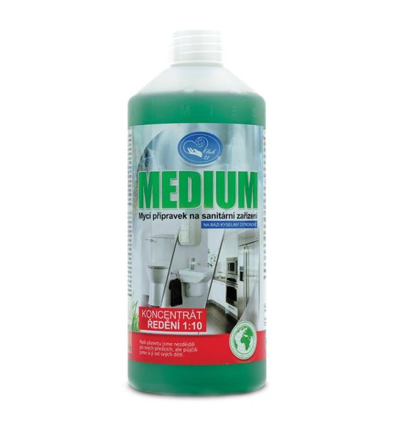 Medium 0,5 L - na sanitární zařízení koncentrát 1:10 MISSIVA