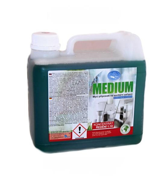Medium 3 L - na sanitární zařízení koncentrát 1:10 MISSIVA