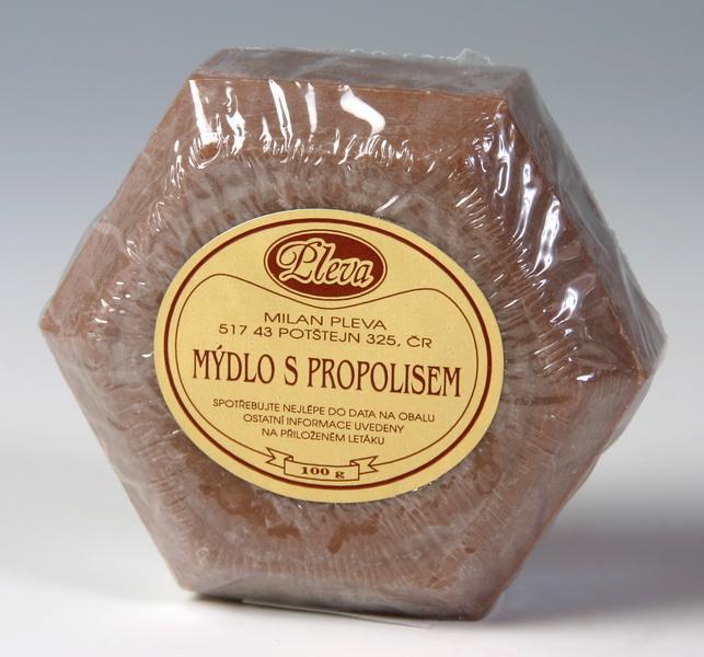 Mýdlo s propolisem hnědé 95 g - PLEVA