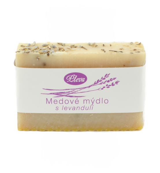 Medové mýdlo s levandulí 90g Pleva