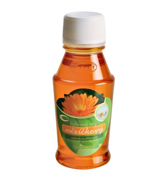 Měsíčkový bylinný olej 100 ml - Topvet