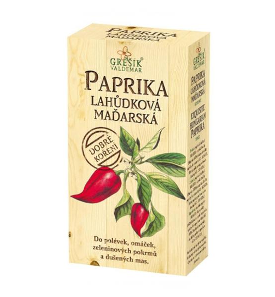 Paprika lahůdková maďarská mletá 100g - Grešík