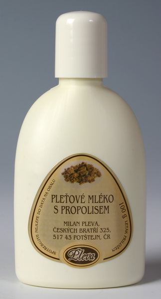 Pleťové mléko s propolisem 100 g - PLEVA