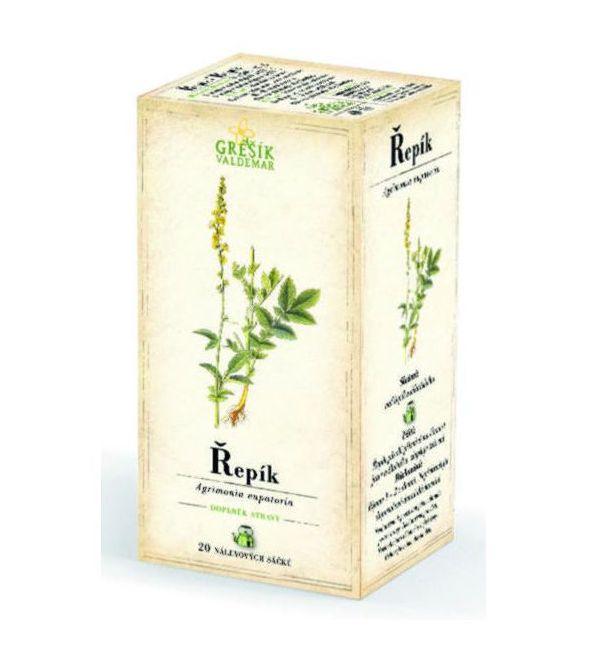 Řepík - bylinný čaj 20 x 1,2 g GREŠÍK