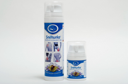 Sněhurka - chladivý gel s kostivalem 200 ml MISSIVA