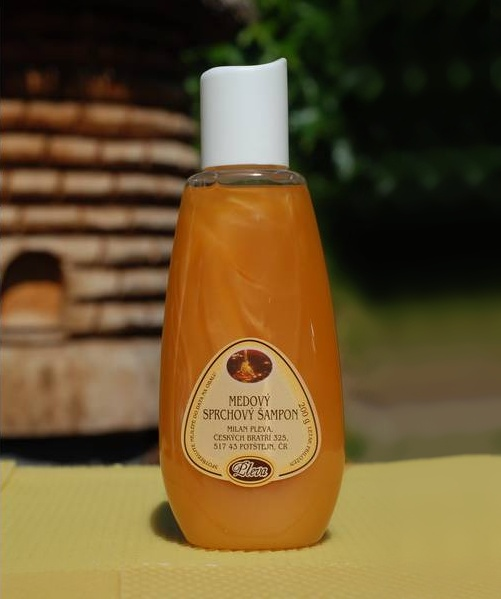 Sprchový šampon s medem 200 g - PLEVA