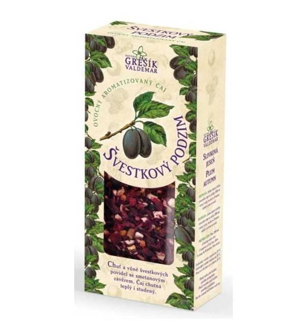 Švestkový podzim - sypaný čaj 100 g GREŠÍK