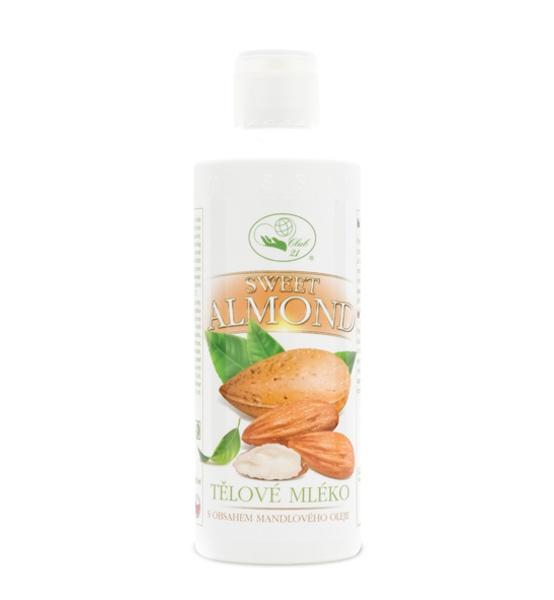 Sweet almond - tělové mléko 250 ml MISSIVA