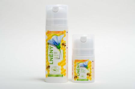 Včelí lněný krém 100 g - na ruce a nehty MISSIVA