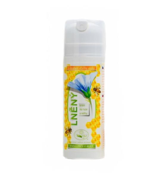 Včelí lněný krém 150 ml - na ruce a nehty MISSIVA