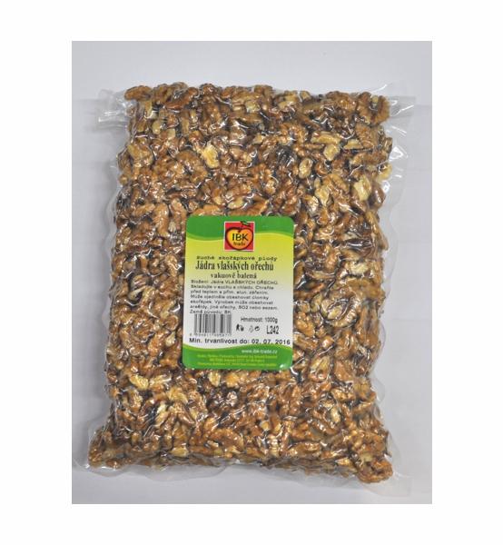 Vlašské ořechy 1000g vakuované - IBK trade